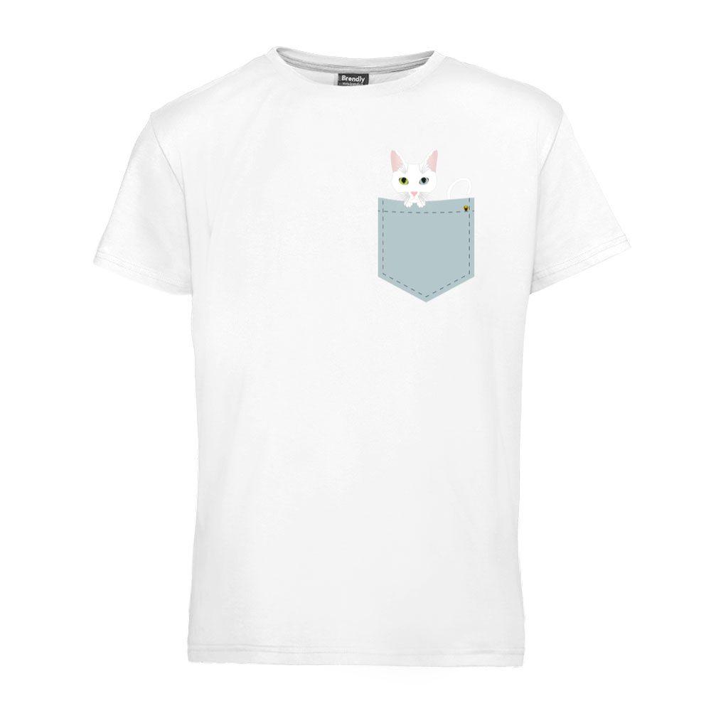 Bela mačka u džepu