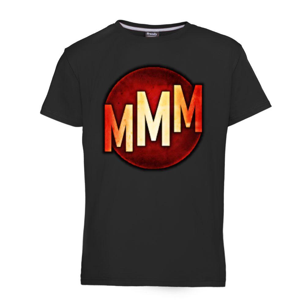 MMM Games logo - Muska majica