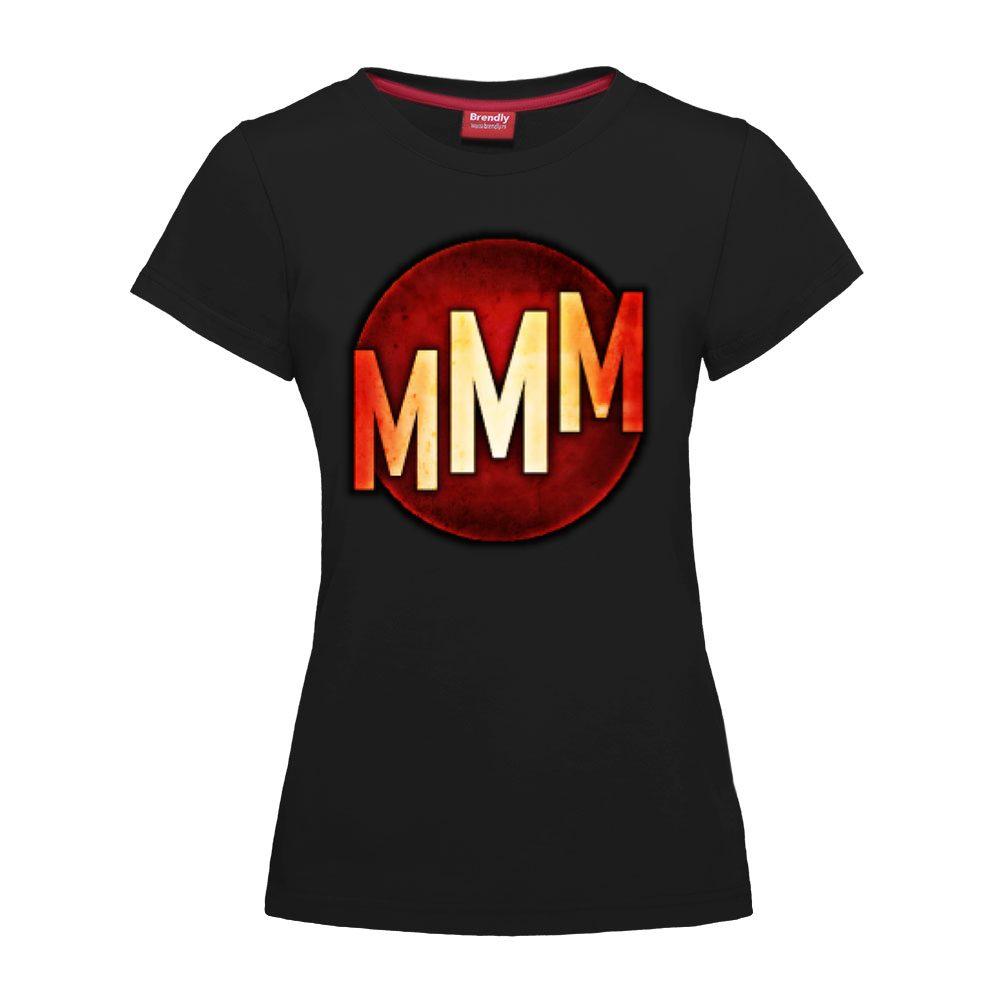 MMM Games logo - Zenska majica